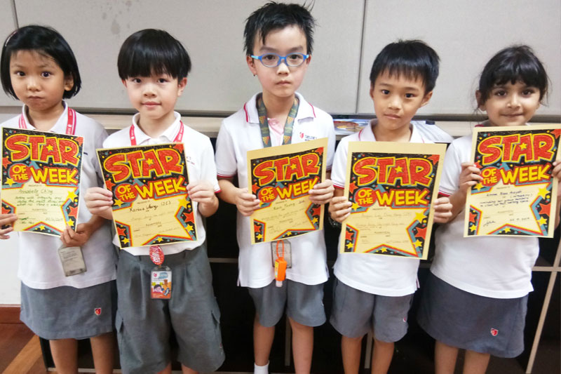 Congratulations to our 'Stars of The Week' from the Primary School!