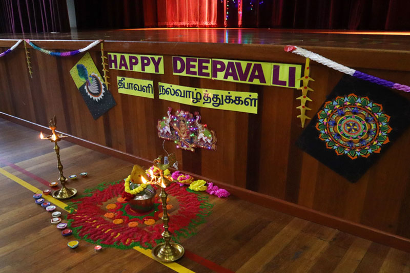 One of the highlights for the Secondary school was our Deepavali assembly on Wednesday were there was a great time of celebration and with various presentations of dance, song, games and competitions.
