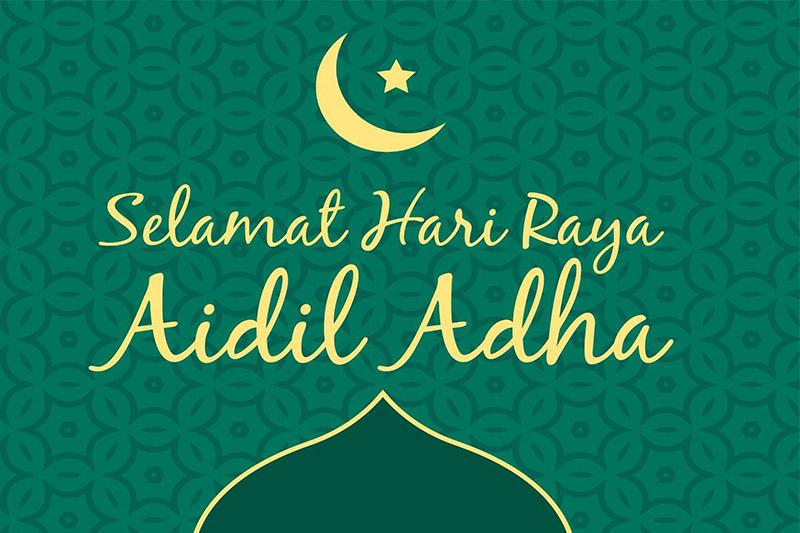 """""""Selamat Hari Raya Haji"""" to all of our Muslim parents."""