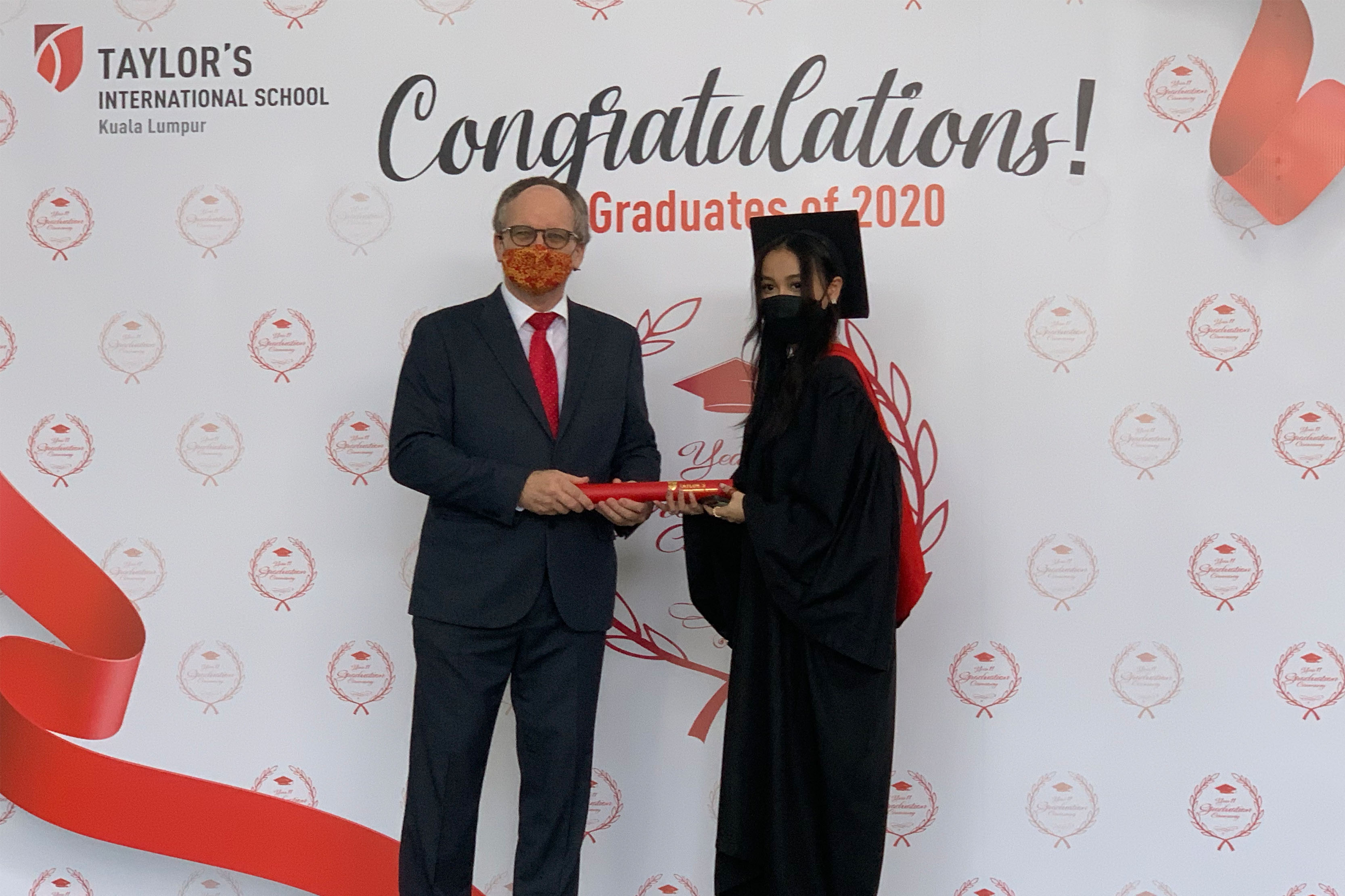 Last Saturday was our 2020 Year 11 graduation ceremony. It was super to see our ex students and to hear what they are doing now.