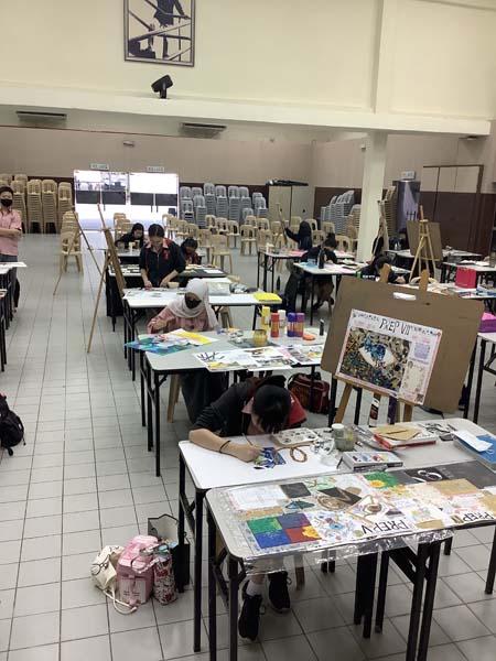 Year 11 Art exam preparation